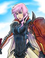 Lightning Returns: Final Fantasy XIII by TLEEART