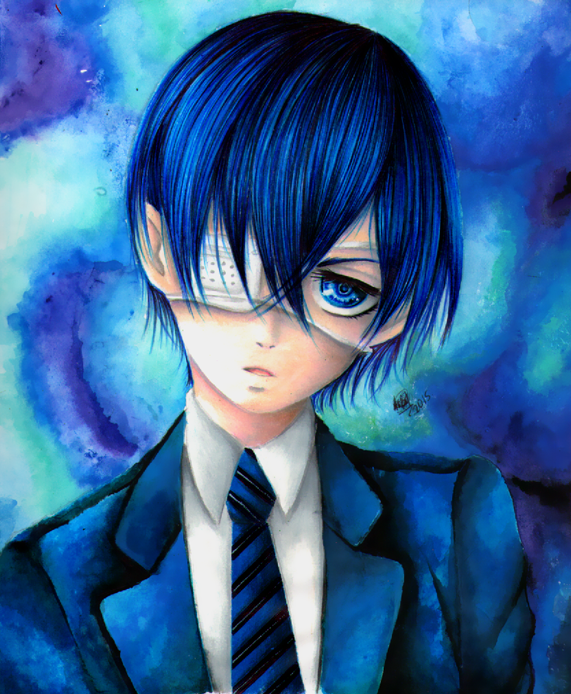 Ciel Phantomhive by AngelicaBq