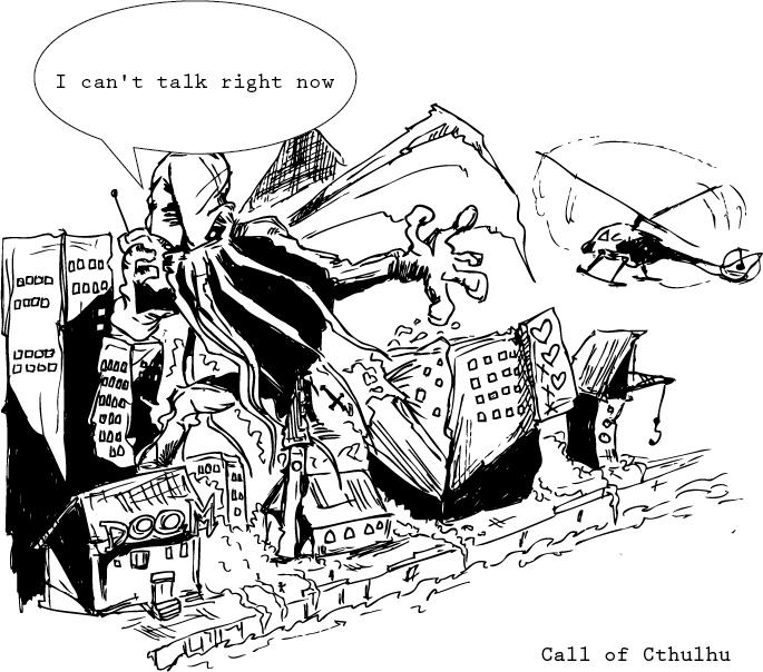 Call of Cthulhu by OttoIch