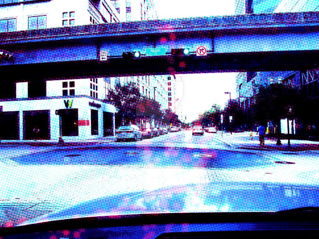 Approaching Hogan St. by dynakor