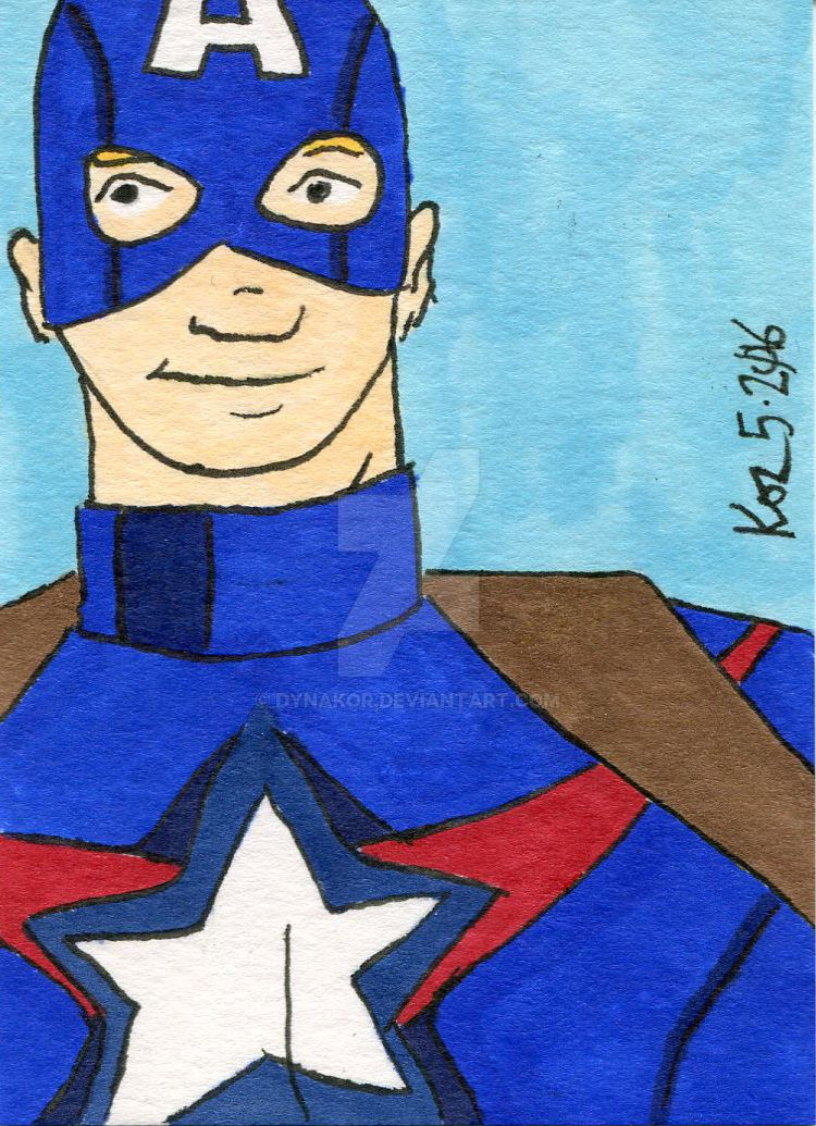Captain America 5-2016 by dynakor