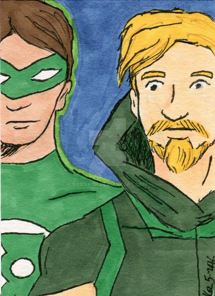 Green Lantern and Green Arrow 5-2016 by dynakor