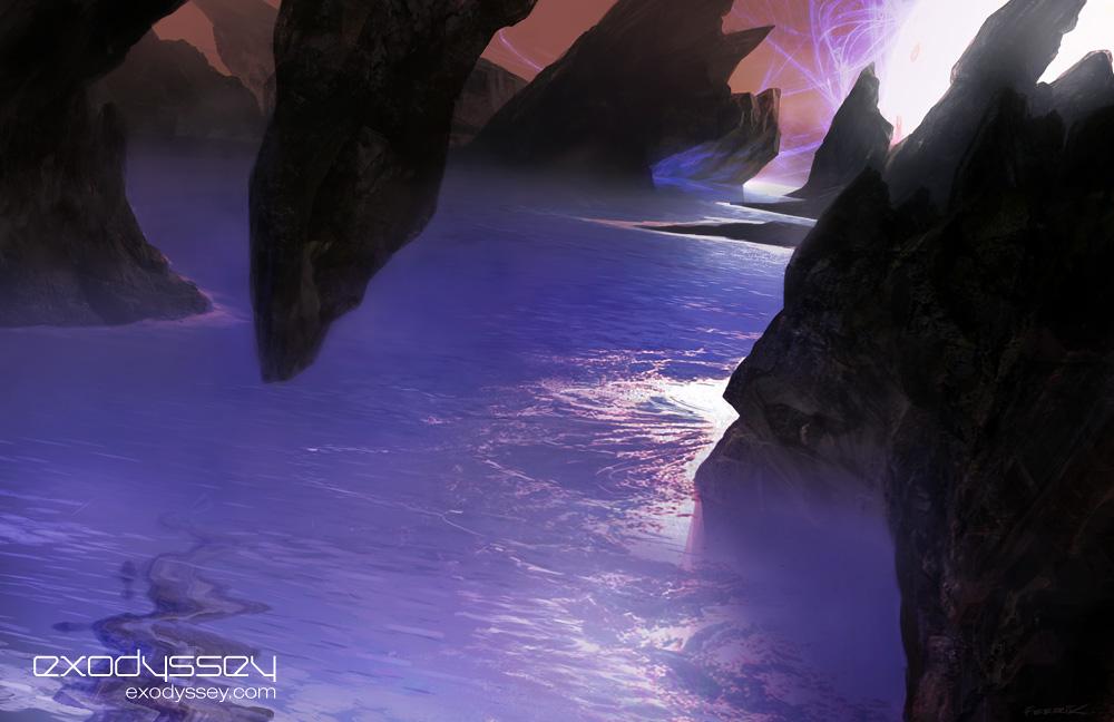 Halloscape by feerikart