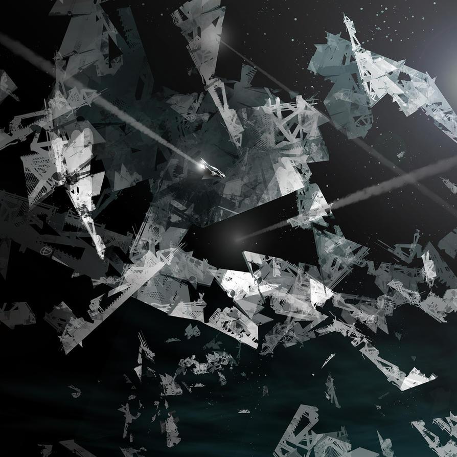 Space Debris by feerikart
