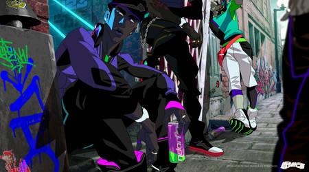 Neo Blasterz Pack chillin'