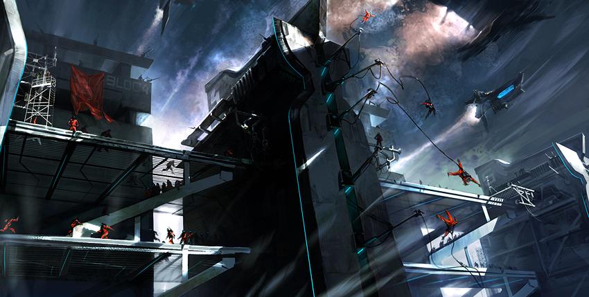 Base Jump by feerikart