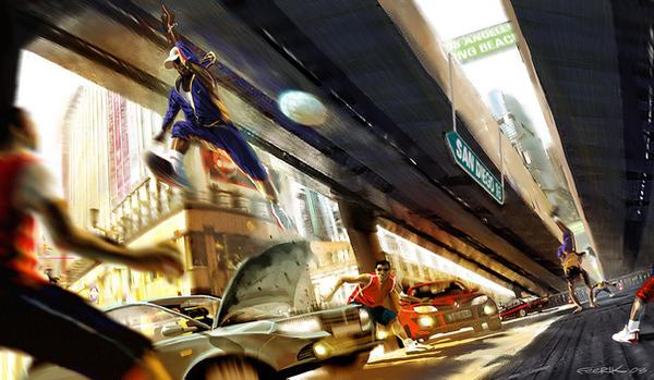 Street Jump by feerikart