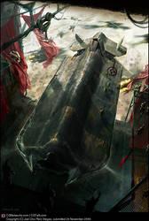 Military starship by feerikart