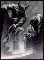 Titans by feerikart