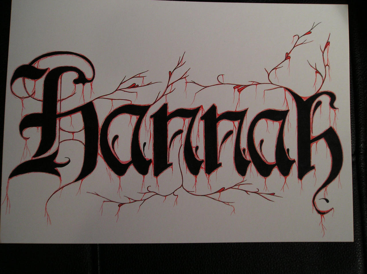 hannah drawing by virusoverload on deviantart