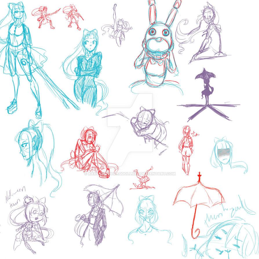 10-6ths - Rixley Sketches by xXxVampireRagdollxXx