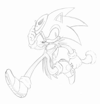 Sonic Skellington by KACItheCAT