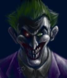 Edited Joker Potrait by KACItheCAT