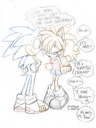 Sonic's 25th! And I've got nadda. by KACItheCAT