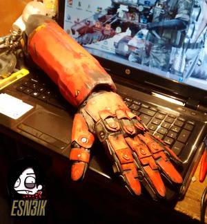 Punished Snake - Prosthetic Arm