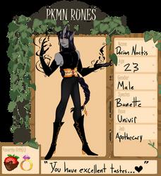 PKMN-Runes: Dorian by Hell-Faun