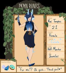 PKMN-Runes: Kai by Hell-Faun