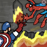 Captain America and Spidey by Ishbal