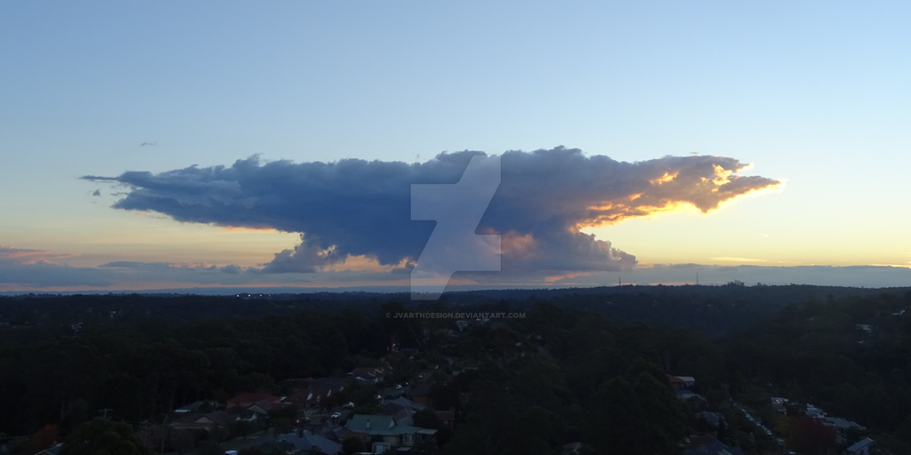 Storm Cloud Rising by JVartndesign