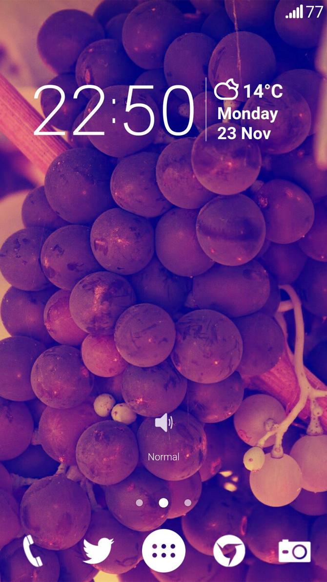 LG G2 Home Screen by bobi1024