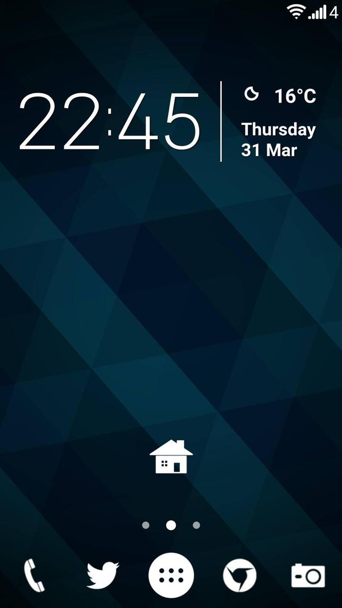 LG G2 Homescreen by bobi1024