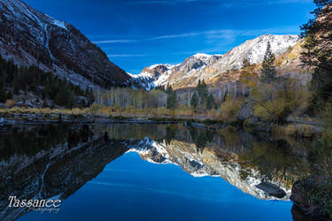 Lundy's Reflection by tassanee