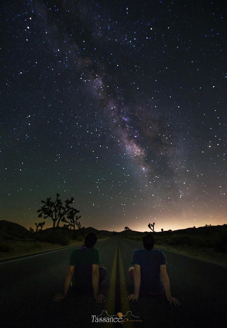 Under the stars by tassanee