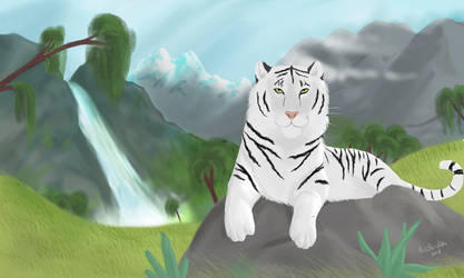 Flan the tiger