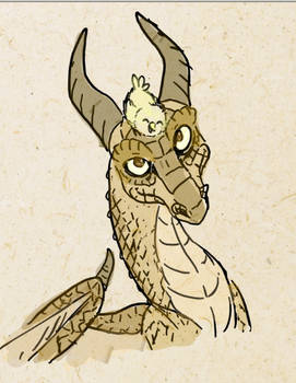 A lovely dragon