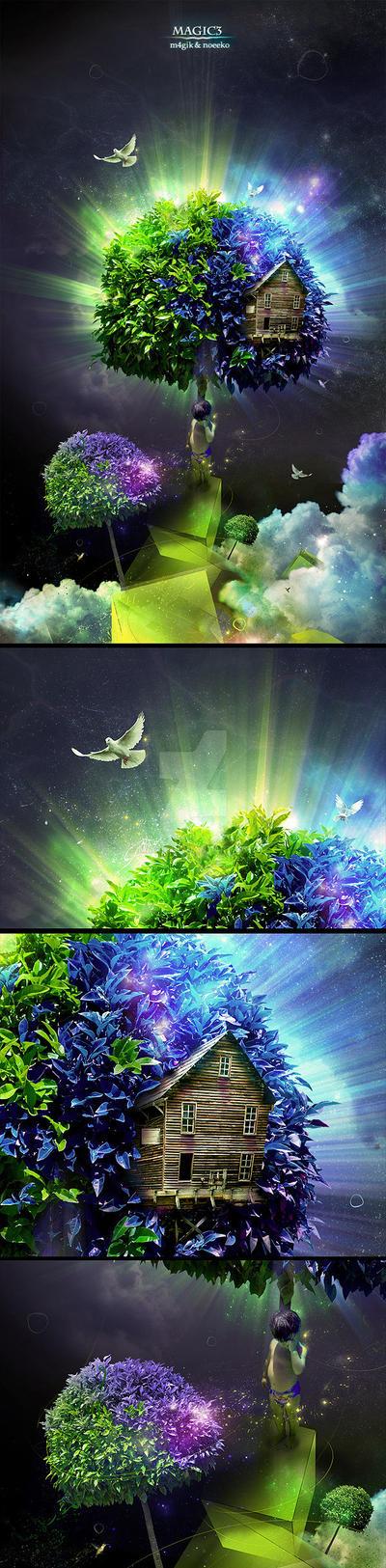 Magic Tree by m4gik