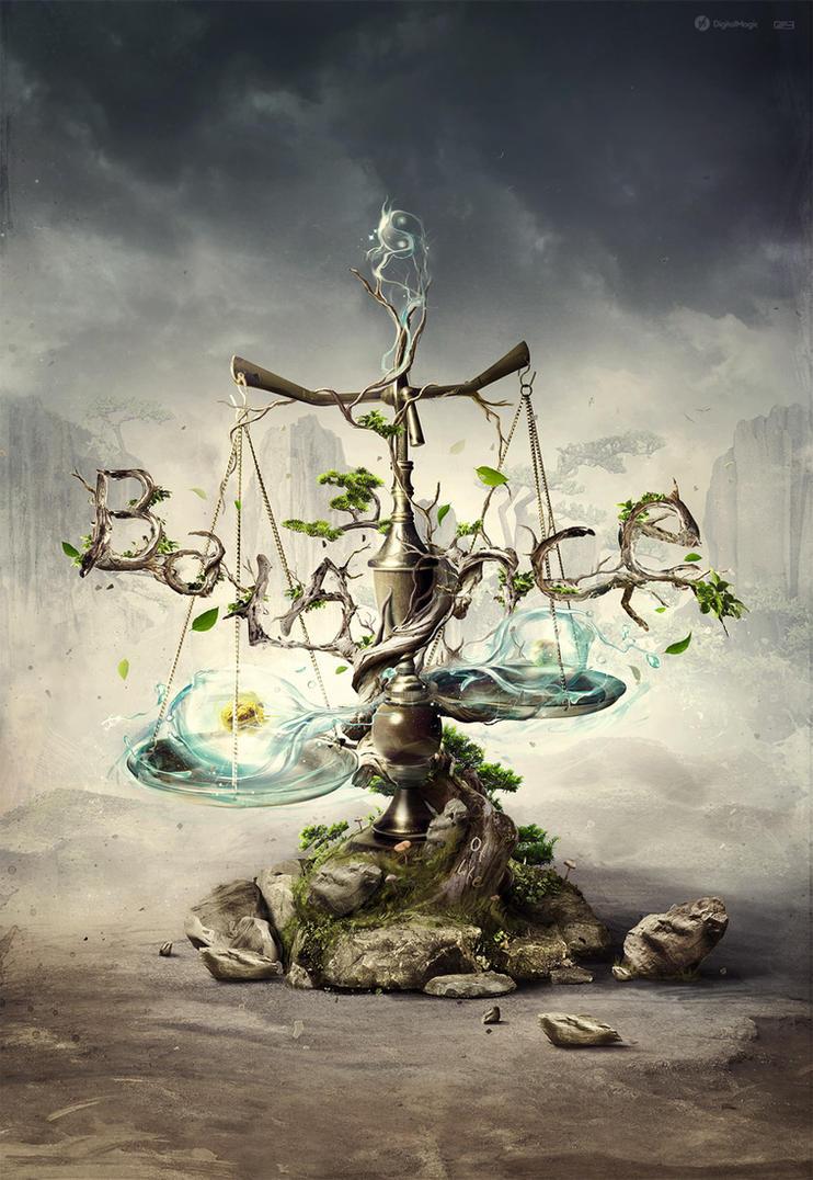 Balance of life by m4gik on DeviantArt
