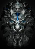 Mech_Lion by m4gik