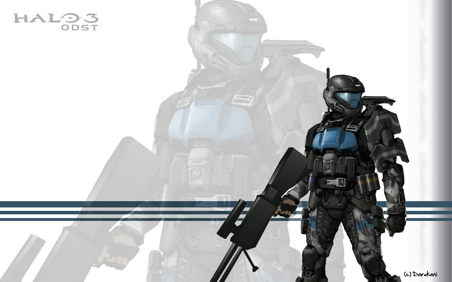 Halo 3 ODST Wallpaper by VMASTER on DeviantArt