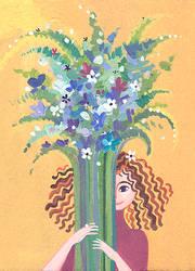 bouquet by greenpengua
