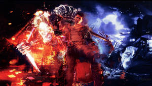 DmC: Devil May Cry Dante and The Hunter