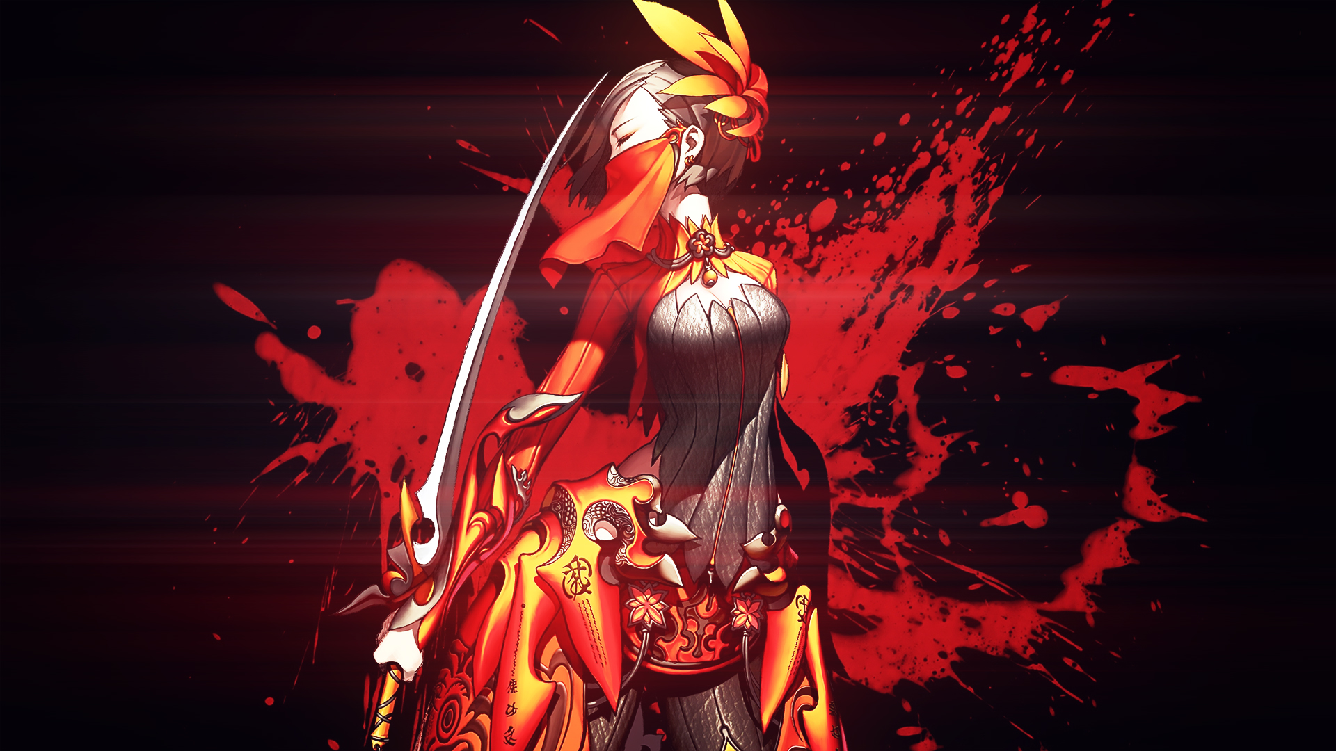 Blade N Soul Anime Characters : Blade and soul wallpaper by kampinis on deviantart