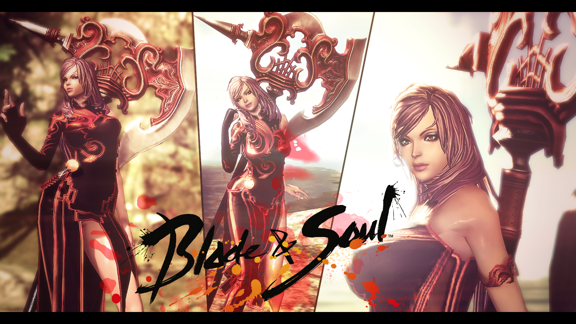 Blade And Soul Wallpaper My Character By Kampinis On Deviantart