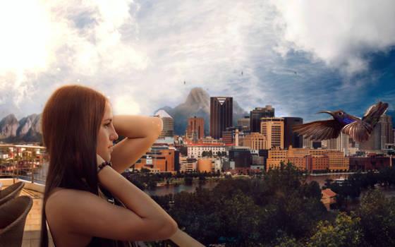 Nature City - photomanipulation