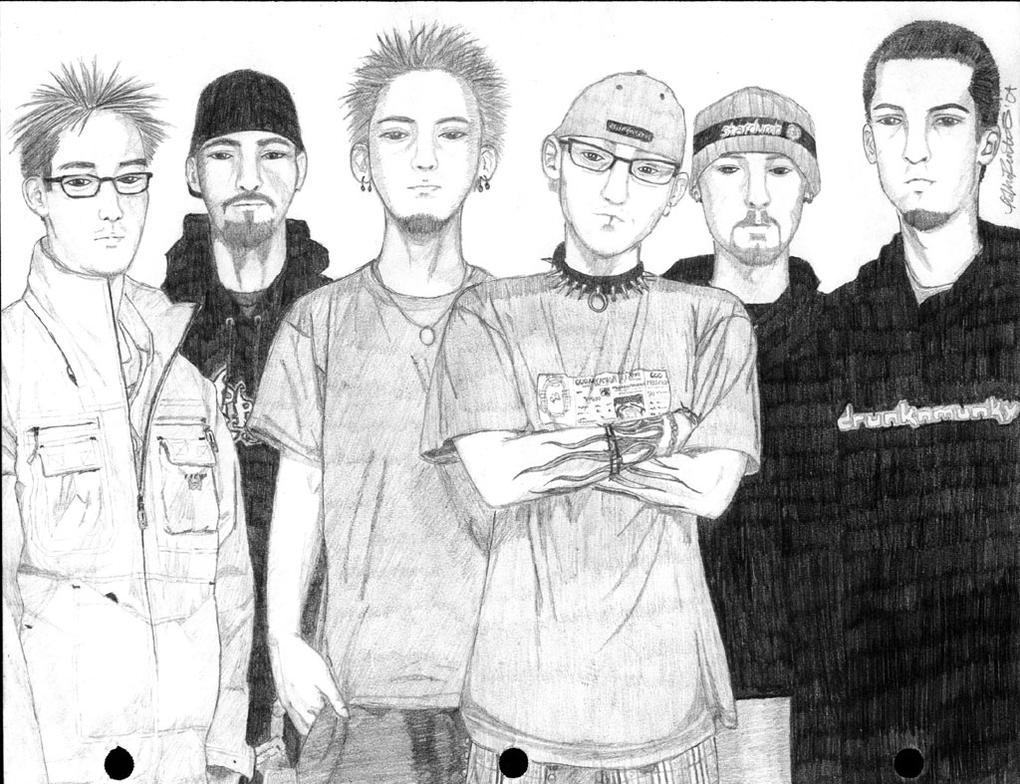 Linkin Park by HybridOtaku