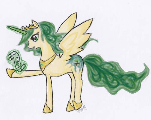 Concept sketch: Princess Equestria