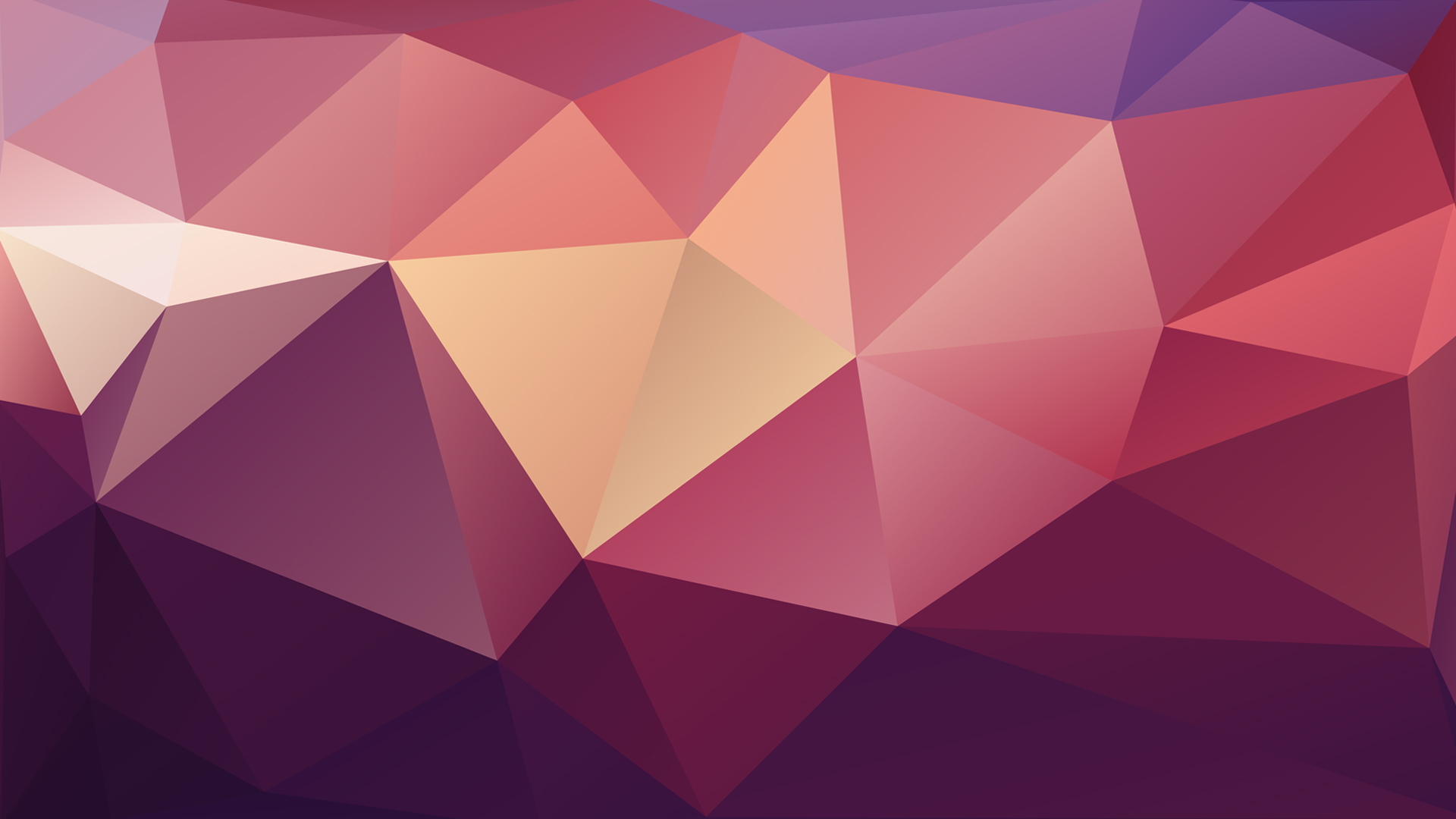 Abstract Geometric Low Poly - Wallpaper by McFrolic