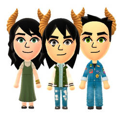 The Pocket Triplets redesigned! by Pixelboid