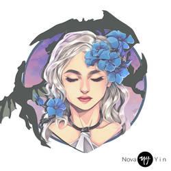 Daenerys Stormborn of the House Targaryen by NovaYin