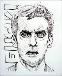Malcolm Tucker by katebert