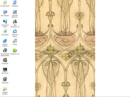 art nouveau wallpaper by katebert on DeviantArt