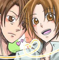 APH:: Italia brothers by OCibiSuke