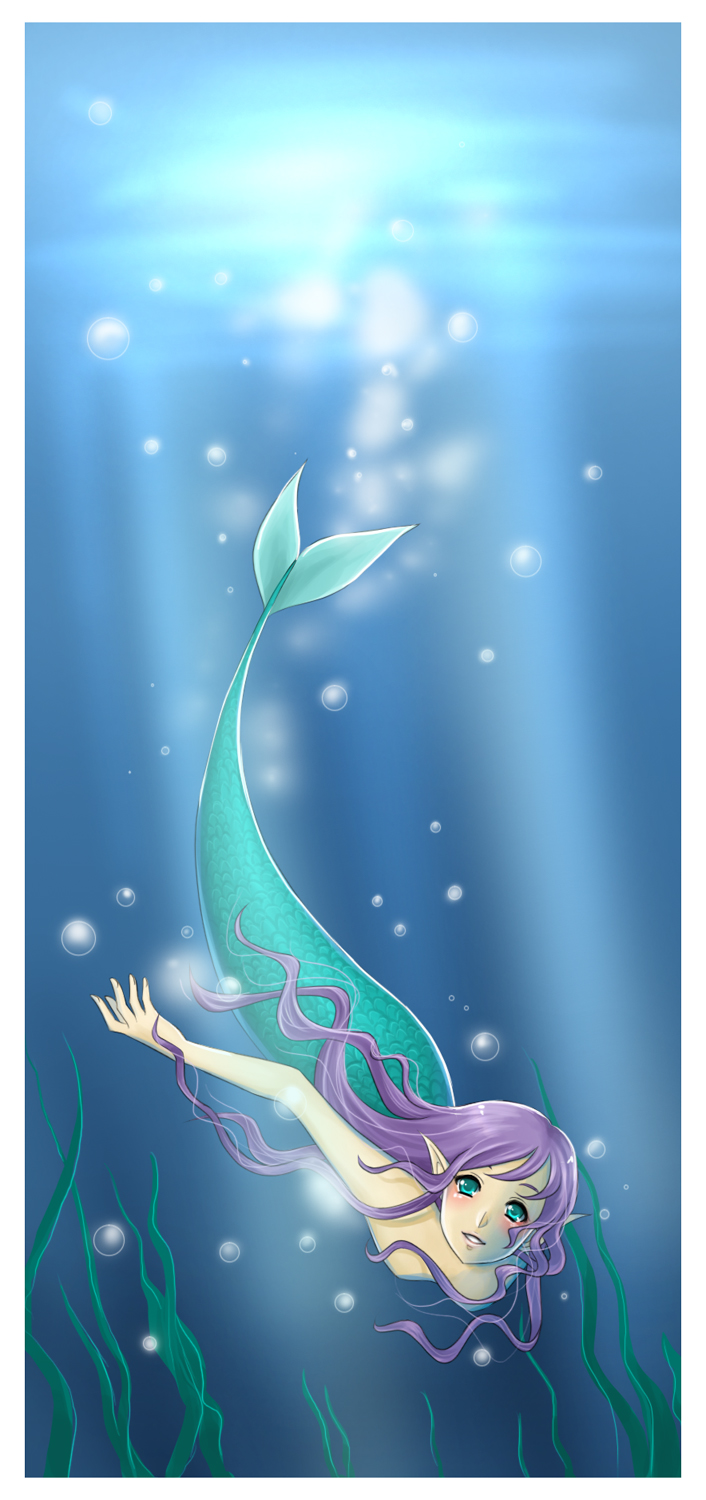 Mermaid by snowy-town