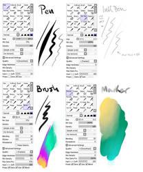 my brush settings