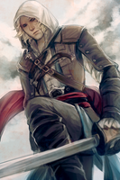 edward kenway by snowy-town