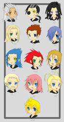 Organization XIII :0 by snowy-town
